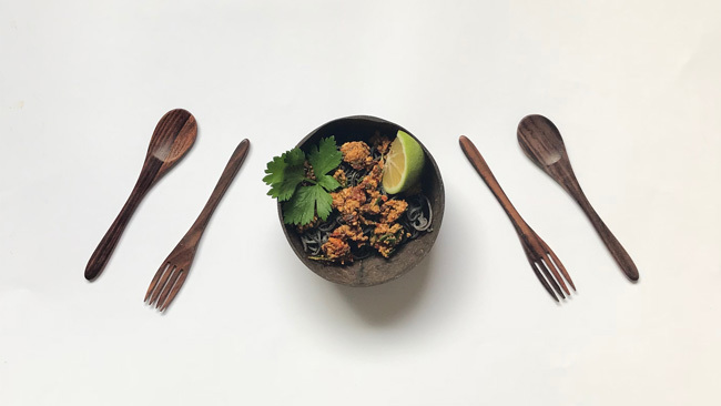 Black Bean Noodles With Pesto Plant-Based Diet Recipes