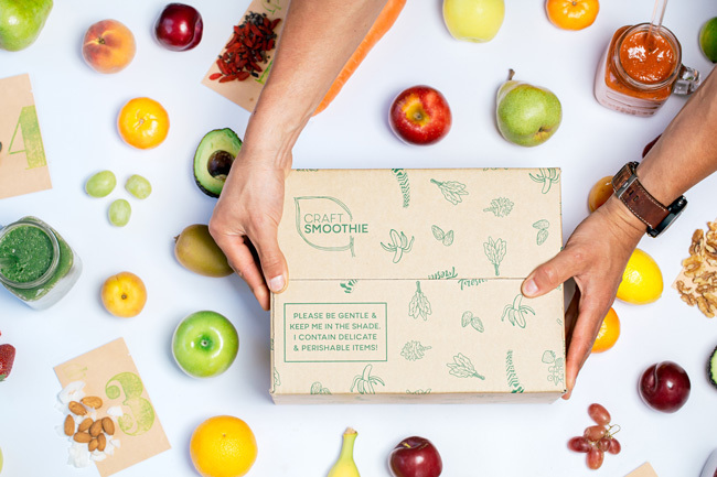 Plant-based Smoothie Box For A Healthy Gut