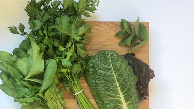 Brain Food Leafy Greens
