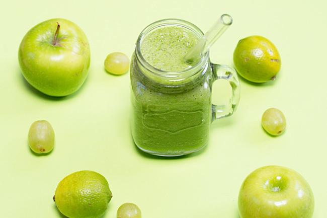 Green Granny Smith Apple Smoothie