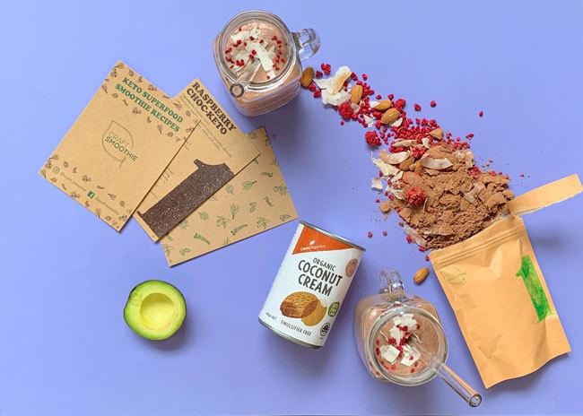 Keto Smoothie Recipe Box Delivery