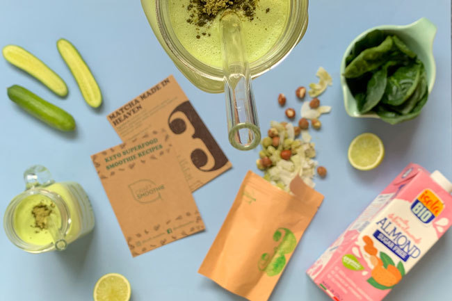Green Keto Smoothie by Craft Smoothie