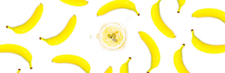 Banana top power foods for busy peop