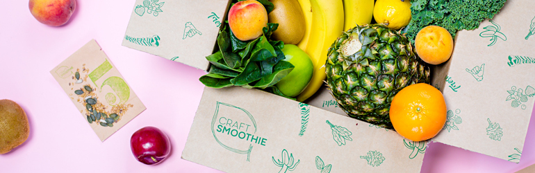 Craft smoothie gifts