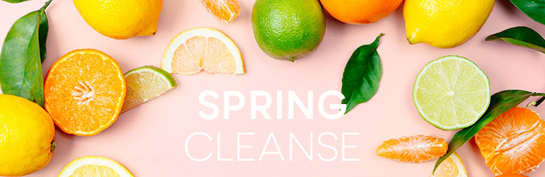 Spring cleanse challenge