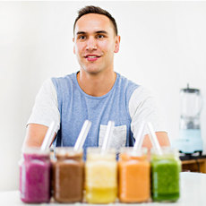 Healthy superfood smoothies at home